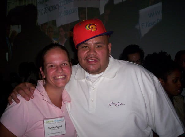 Chrissy Carroll and Fat Joe
