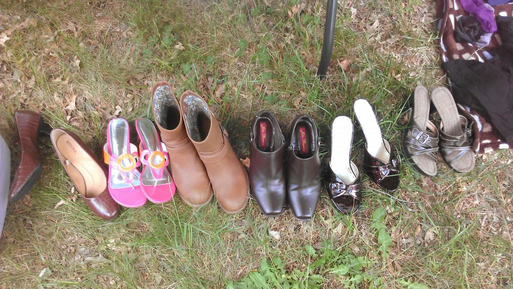 pay what you want yard sale