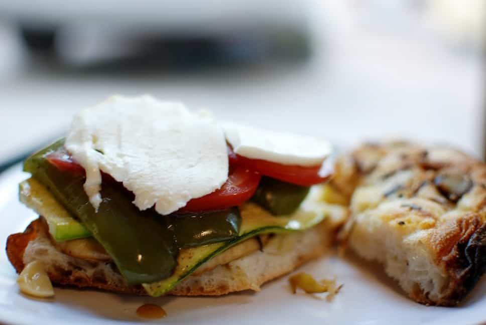 Foccacia Bread with Vegetables