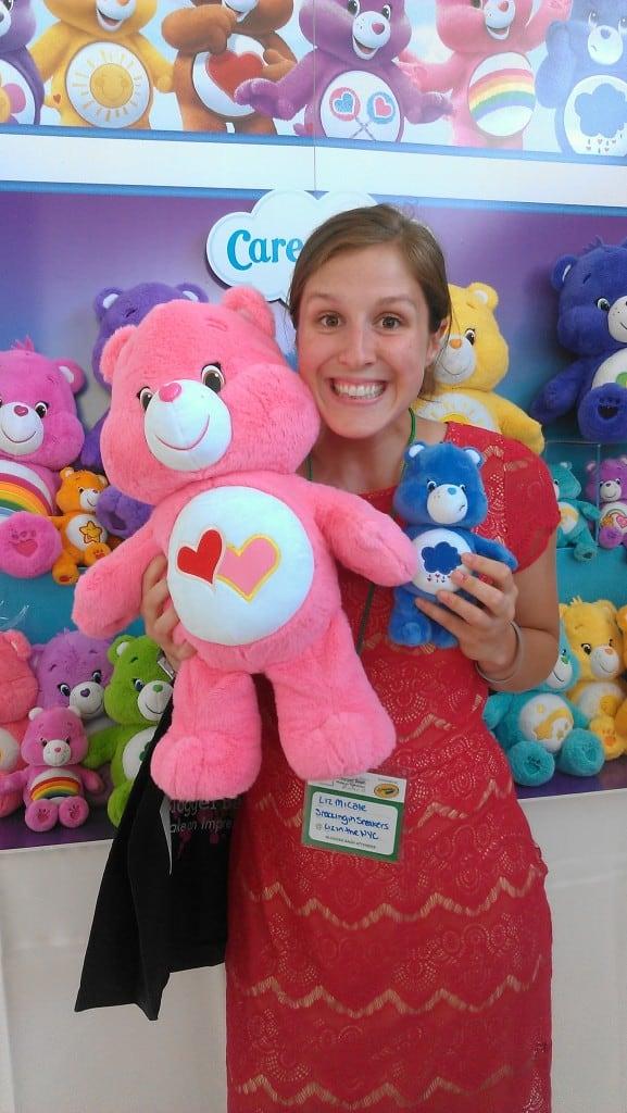 Liz and Care Bears