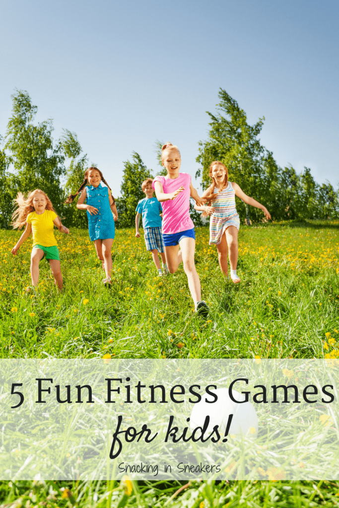5 Fun Exercises for Kids! {Games and Physical Activities}