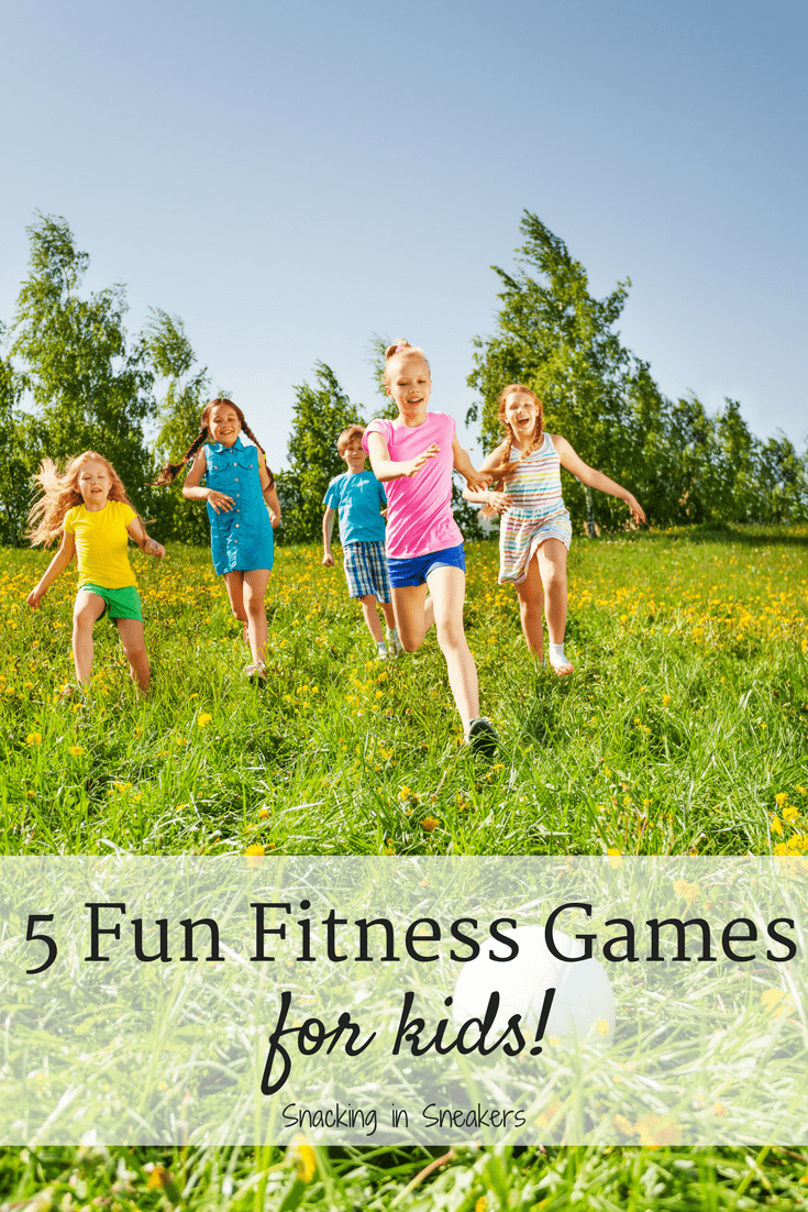 These 5 fun exercises for kids are great for encouraging kids to be active in a creative way! These physical activities and fitness games are perfect for gym teachers, elementary school teachers, or parents to use with children. | Kids Fitness Activities | Kids Fitness Games | Child Exercise Ideas