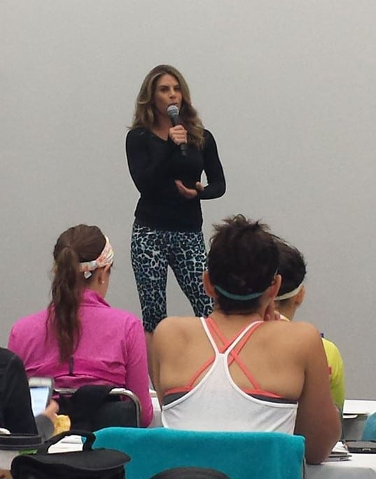 Jillian Michaels at BlogFest