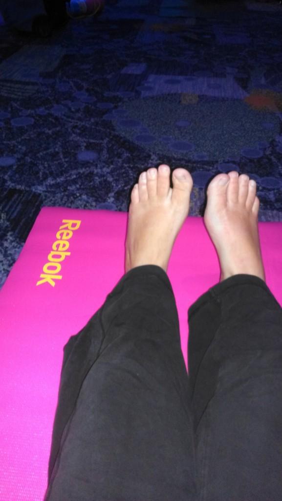 Yoga at IDEA World with Tara Stiles