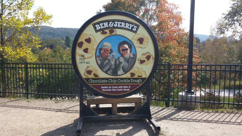 Ben and Jerrys Faces