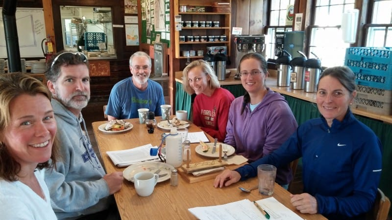 Craftsbury Running Camp Breakfast
