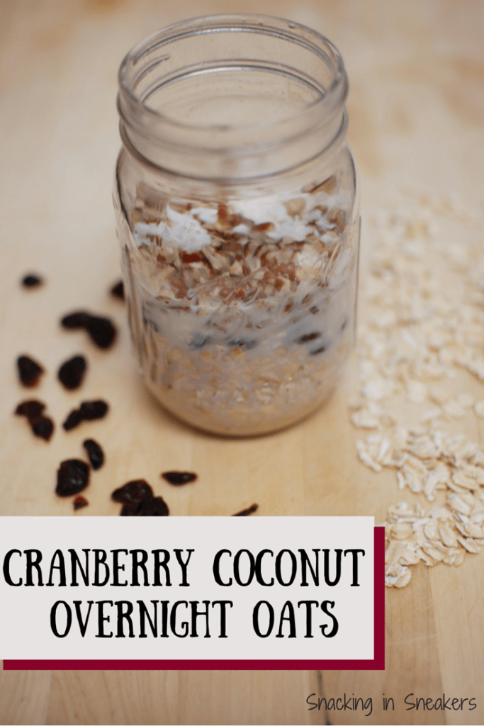 Cranberry Coconut Overnight Oats