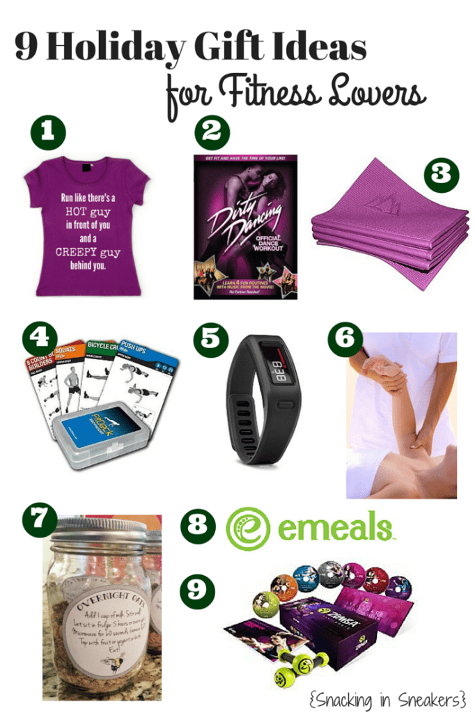 9 Gift Ideas for Fitness Lovers - Snacking in Sneakers
