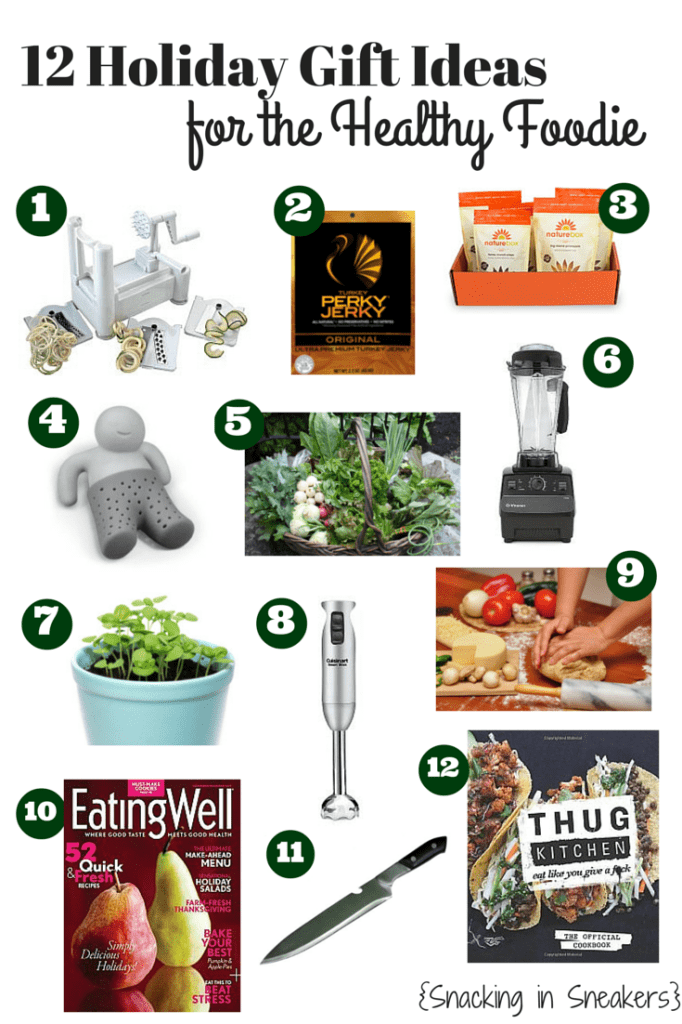 12 Healthy Gift Ideas for Foodies