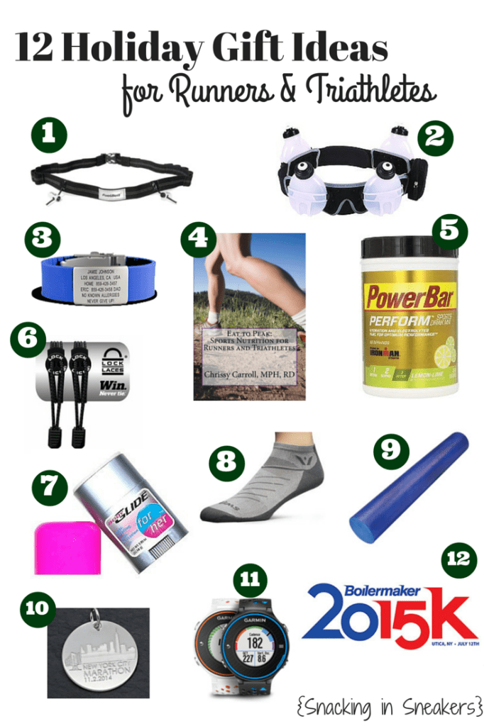 Gift Ideas for Runners and Triathletes