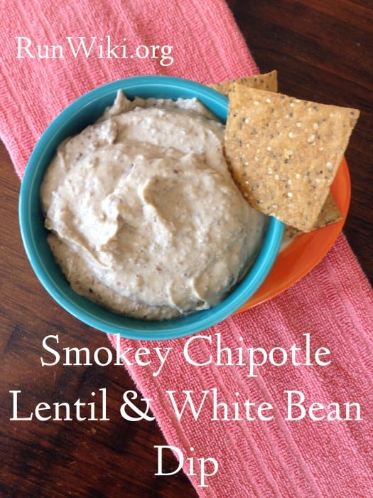 Chipotle White Bean and Lentil Dip