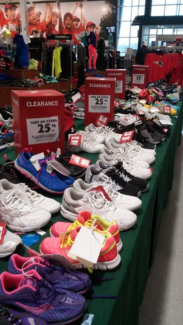 Dick's Sporting Goods Shoe Clearance
