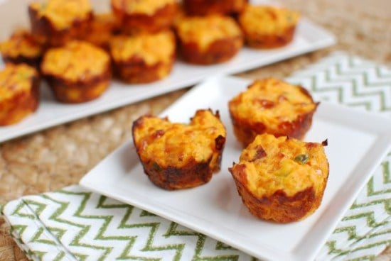 Jalepeno Cheddar Sweet Potato Puffs