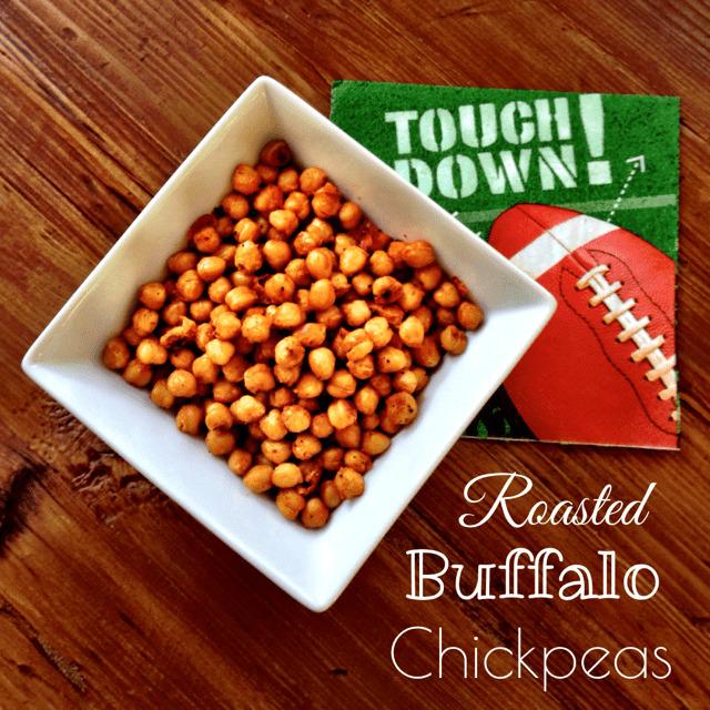 Roasted Buffalo Chickpeas