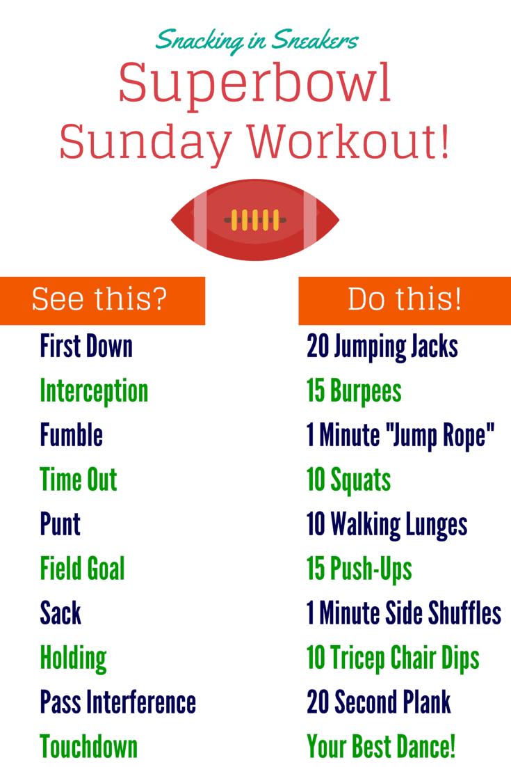 Superbowl Workout