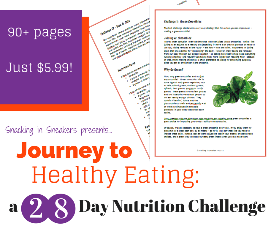 28 Day Nutrition Challenge Graphic