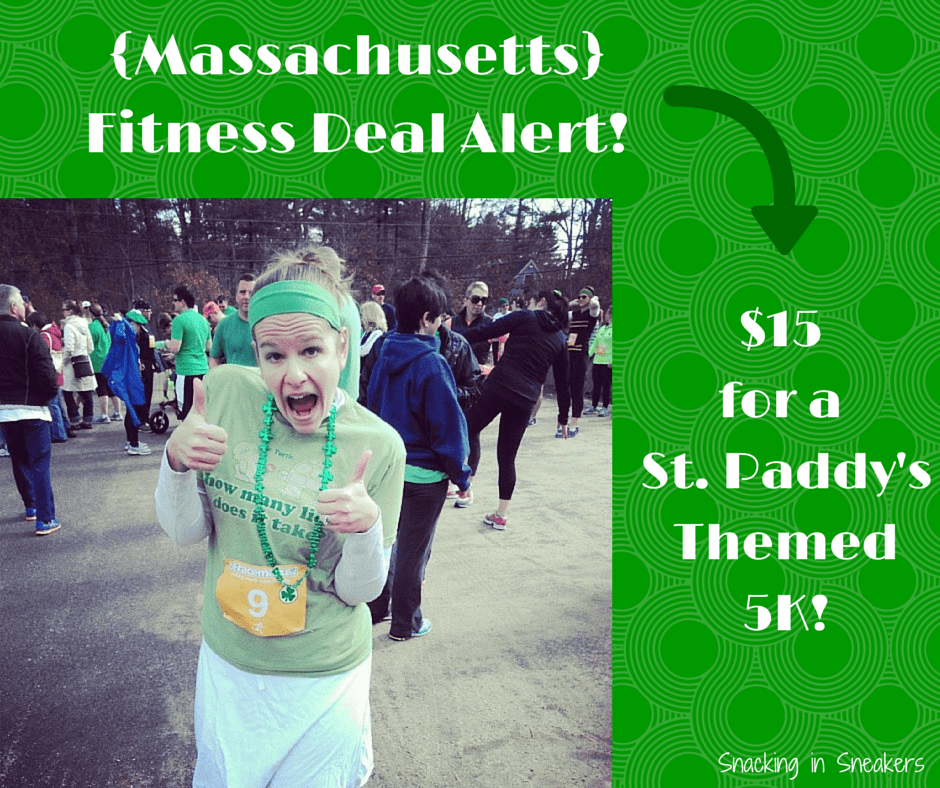Fitness Deal Alert: St Paddy's Day Classic 5K for $15!