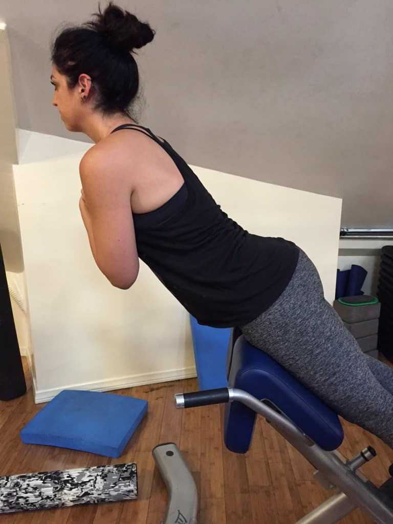 Hyperextension Exercise