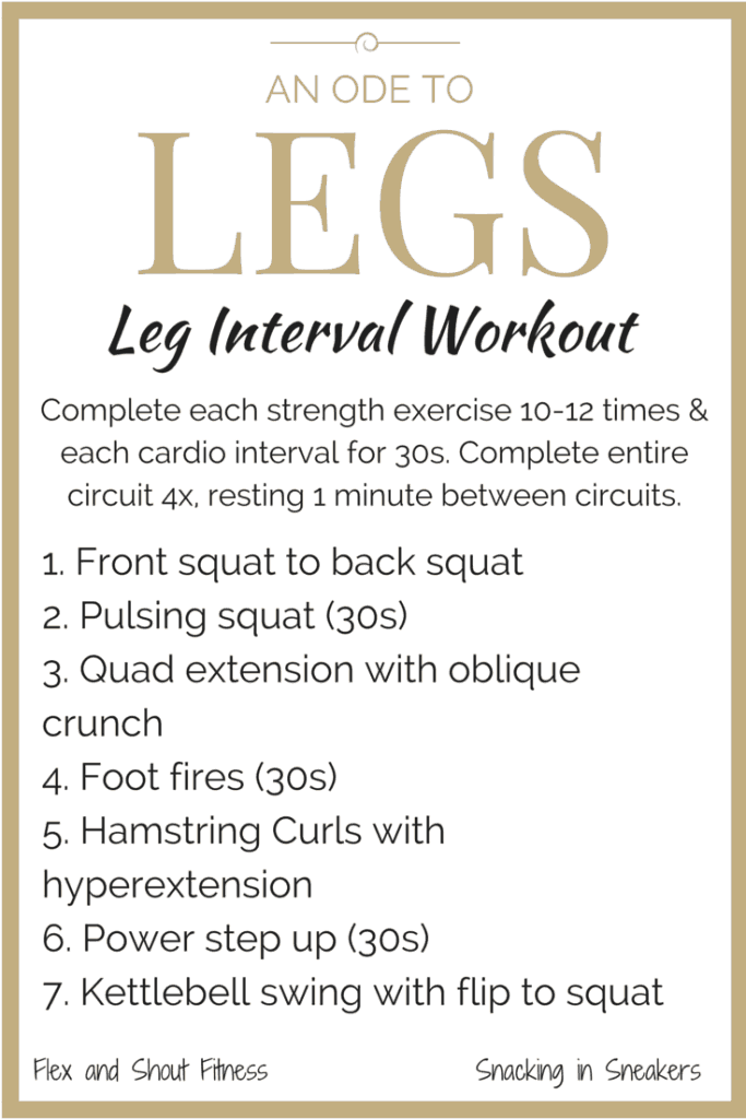 Leg Workout for Women