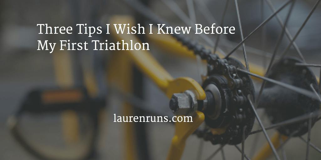 Tips for First Triathlon