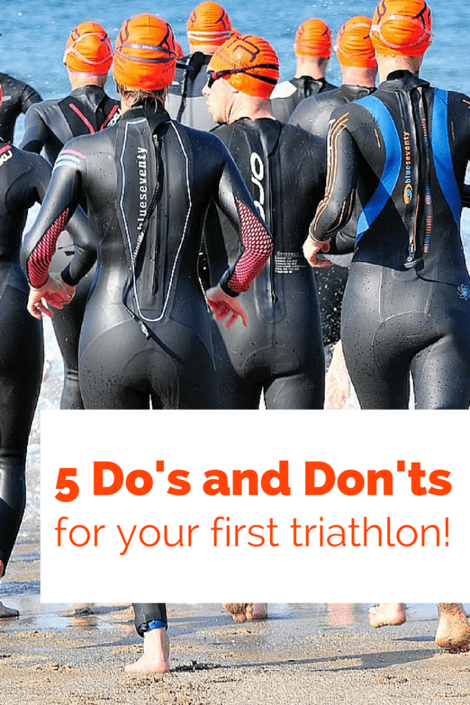 Triathlon Tips – 5 Do's and Don'ts for Your First Tri!