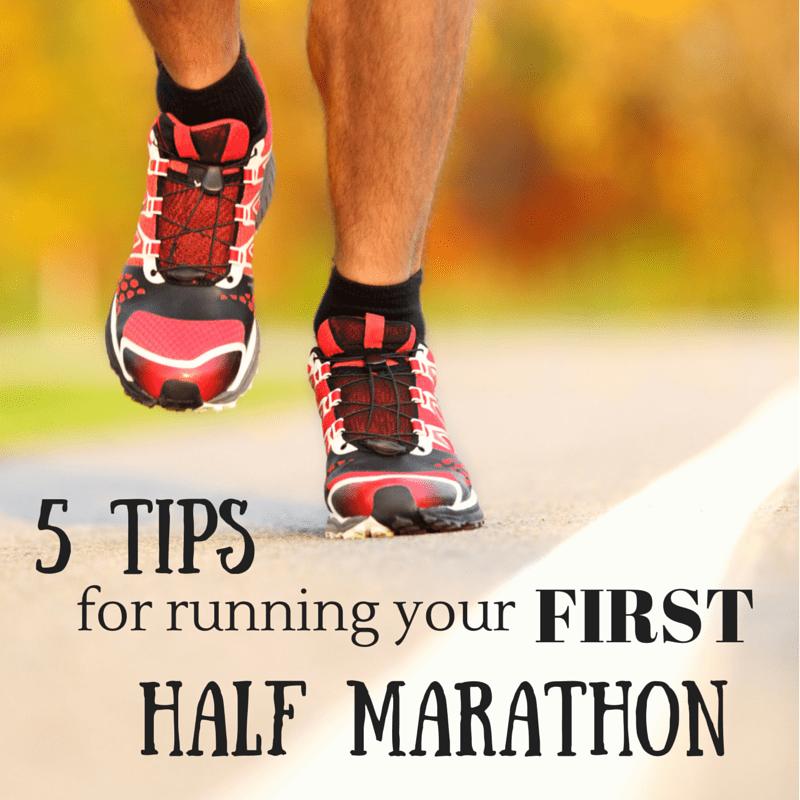 5 tips for running your first half marathon