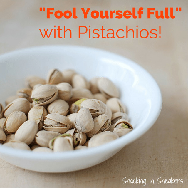 Fool Yourself Full with Pistachios