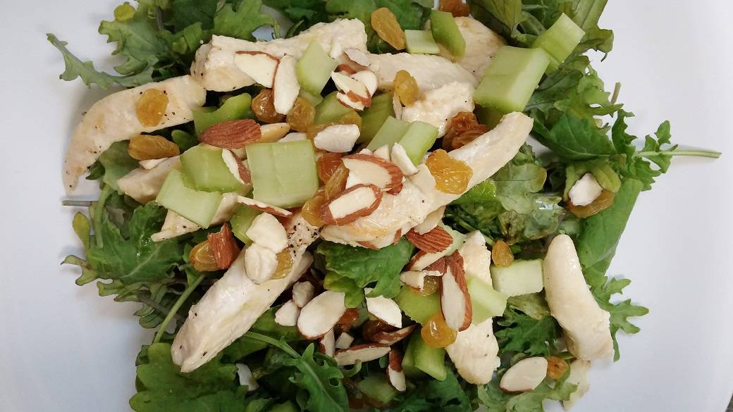 Kale and Chicken Salad Recipe