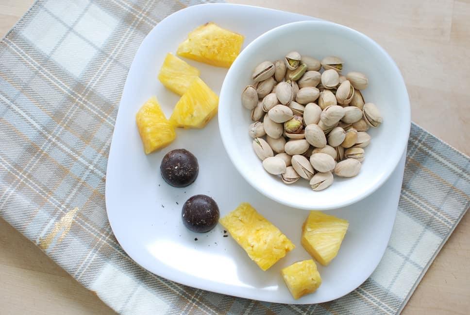 Pistachio Pairing Pineapple Chocolate