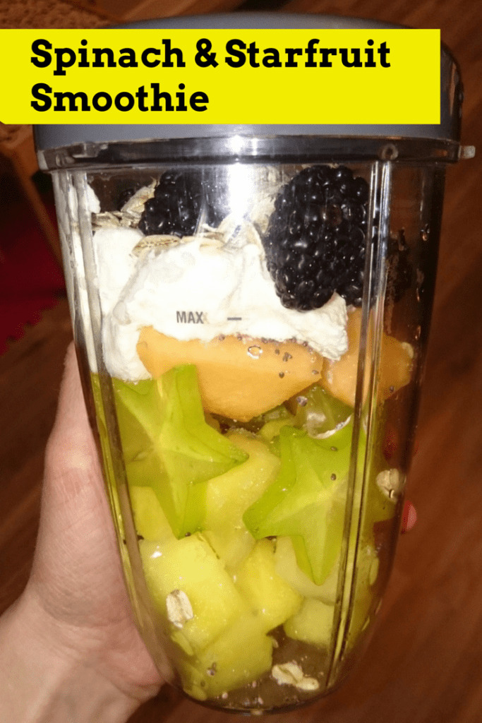 Spinach and Starfruit Smoothie Recipe