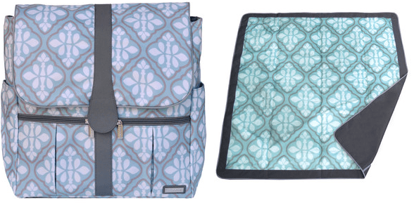 Blue Iris Backpack + Blanket