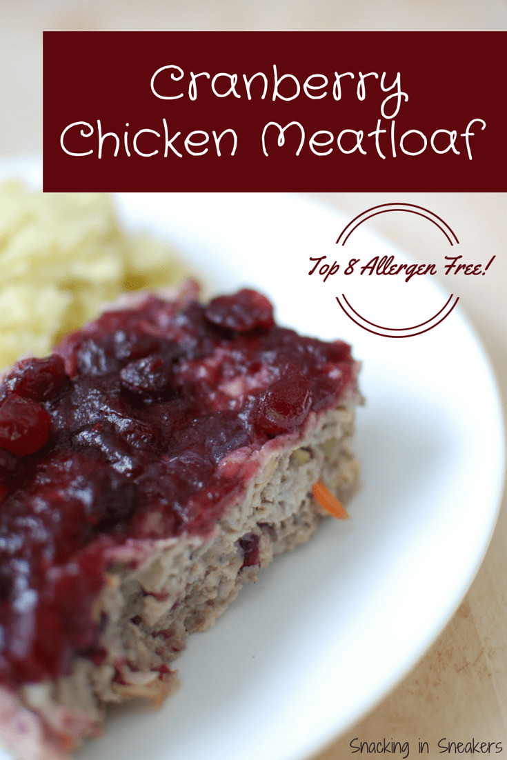 Cranberry Chicken Meatloaf