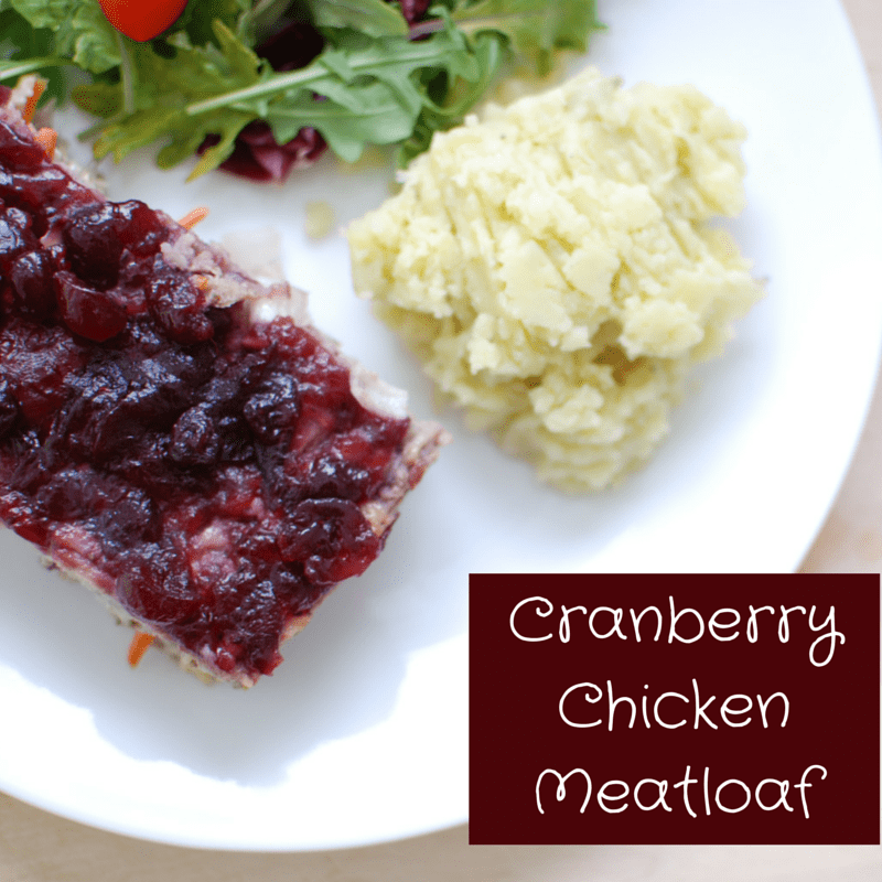 Cranberry Chicken Meatloaf Recipe