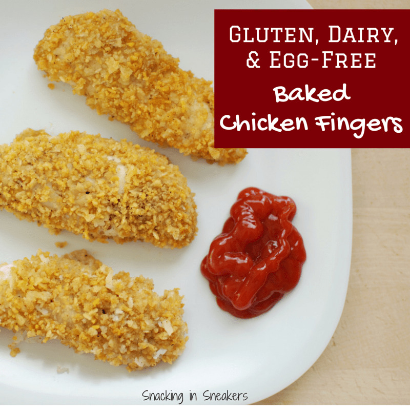 Gluten Free Chicken Fingers