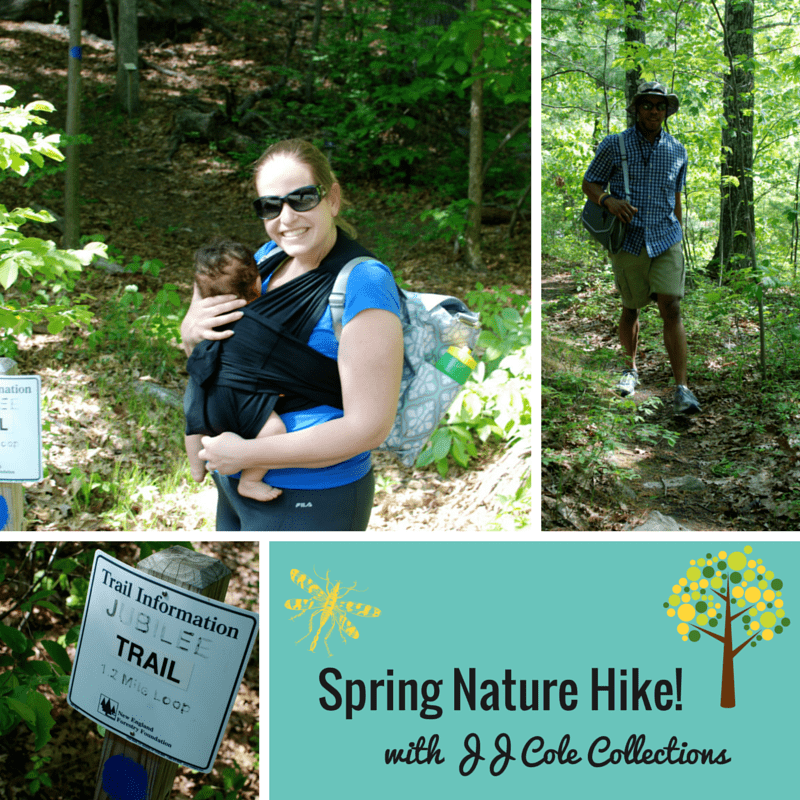 Spring Nature Hike with JJ Cole Collections!