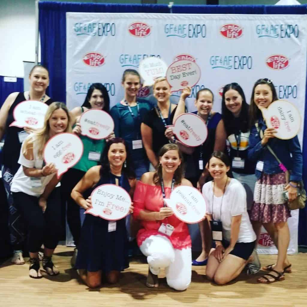 Hanging with these other lovely ladies at the gfafexpo! Bringhellip