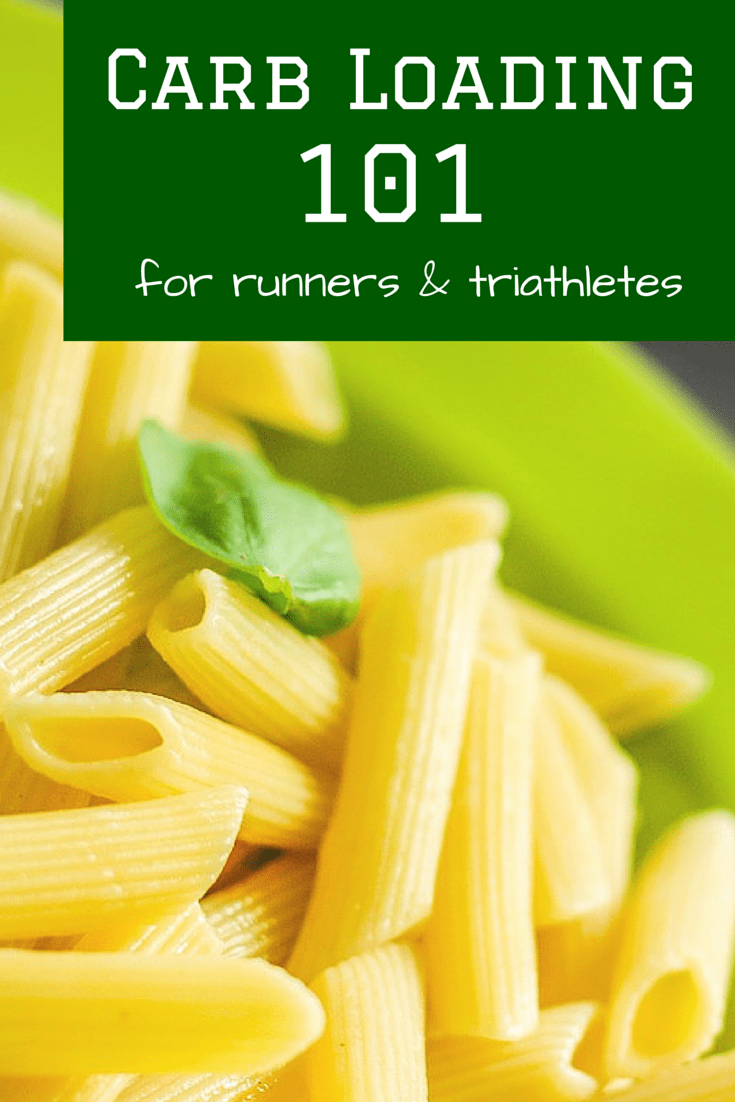 Carb Loading for Runners and Triathletes - A great overview of when & why to carb load, and how to do it for races.