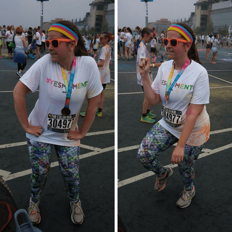 Color Run Dancing Shots