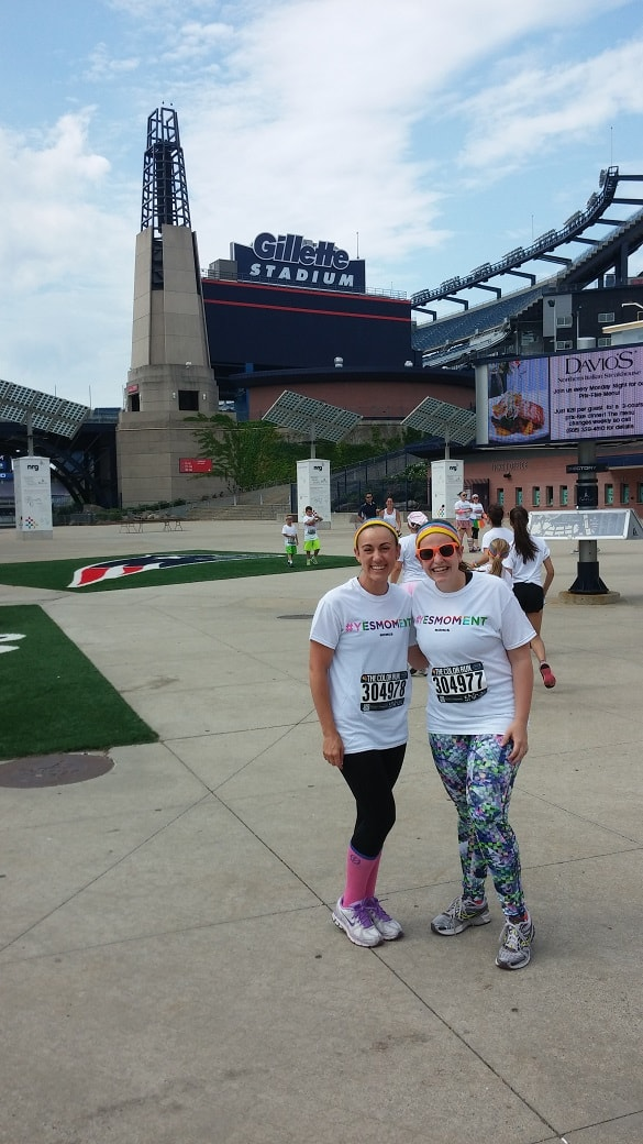 Color Run Gillete Stadium