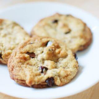3 eggless dairy free chocolate chip cookies