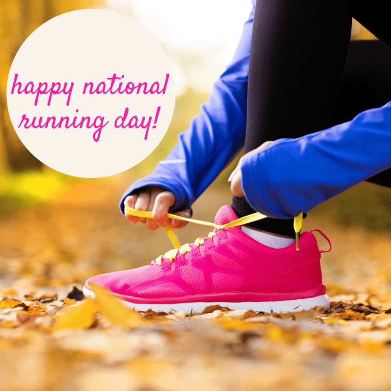Happy National Running Day! Enjoy the answers to some running survey questions plus a roundup of my running favorites.