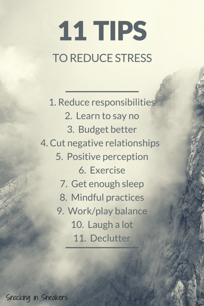 Wondering how to reduce stress? Check out these 11 tips - from learning to say no to getting enough exercise!
