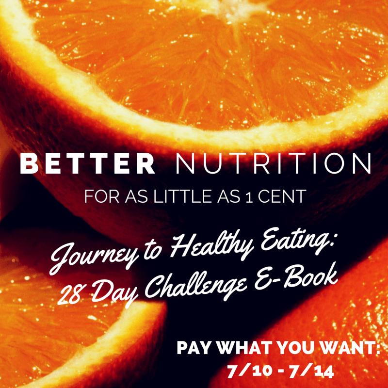 Nutrition E-book Promotion