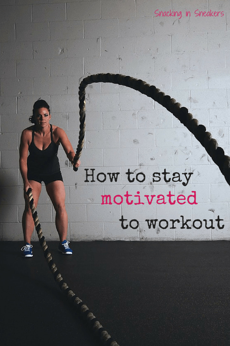How to stay motivated to workout! 6 great tips to keep yourself accountable and moving forward towards your fitness goals.