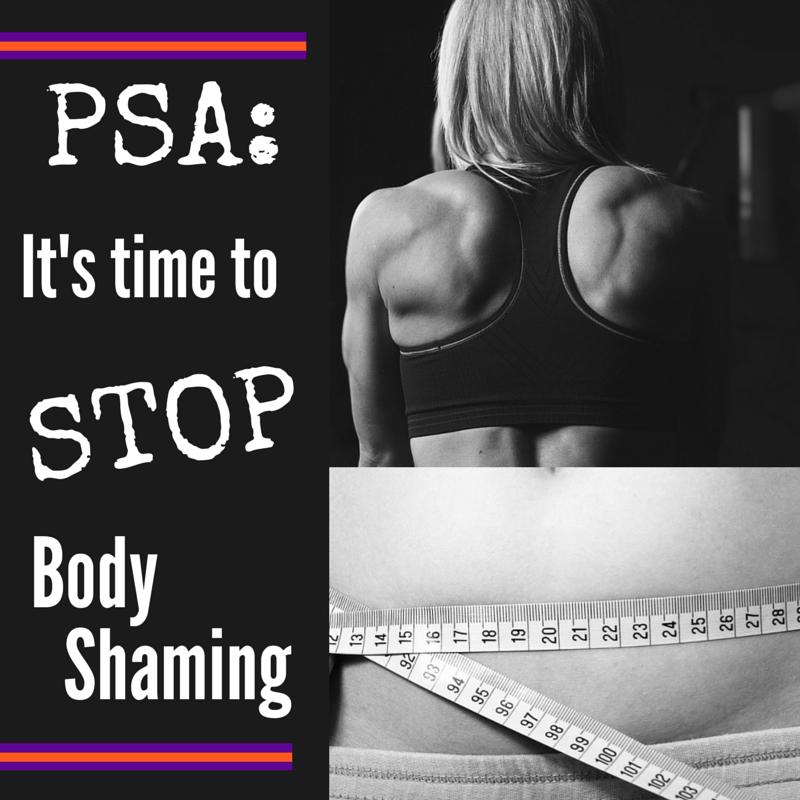 Body Shaming happens to women of all shapes and sizes - and it's time to put a stop to it. Read up on women's stories about how body shaming has affected them.
