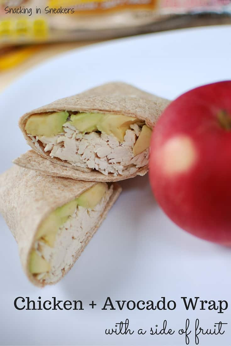 Chicken and Avocado Wrap
