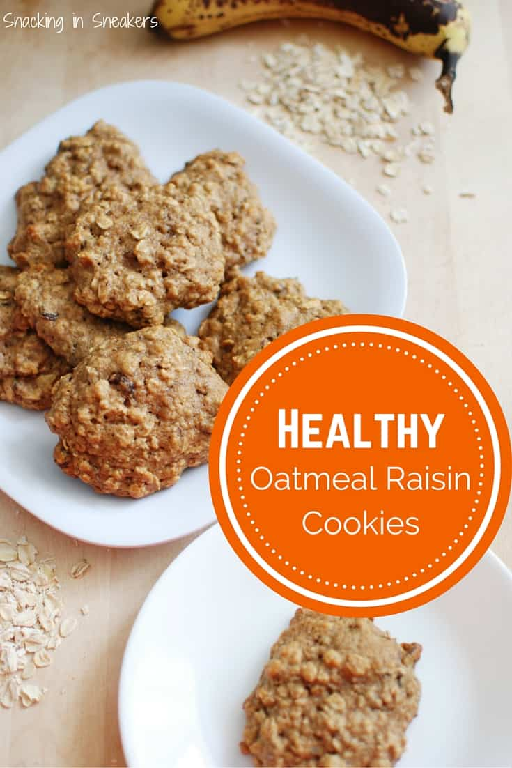 These healthy oatmeal raisin cookies are a bit like muffin tops! They taste delicious and are a great snack especially for athletes.