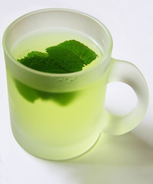 Peppermint Tea and Exercise