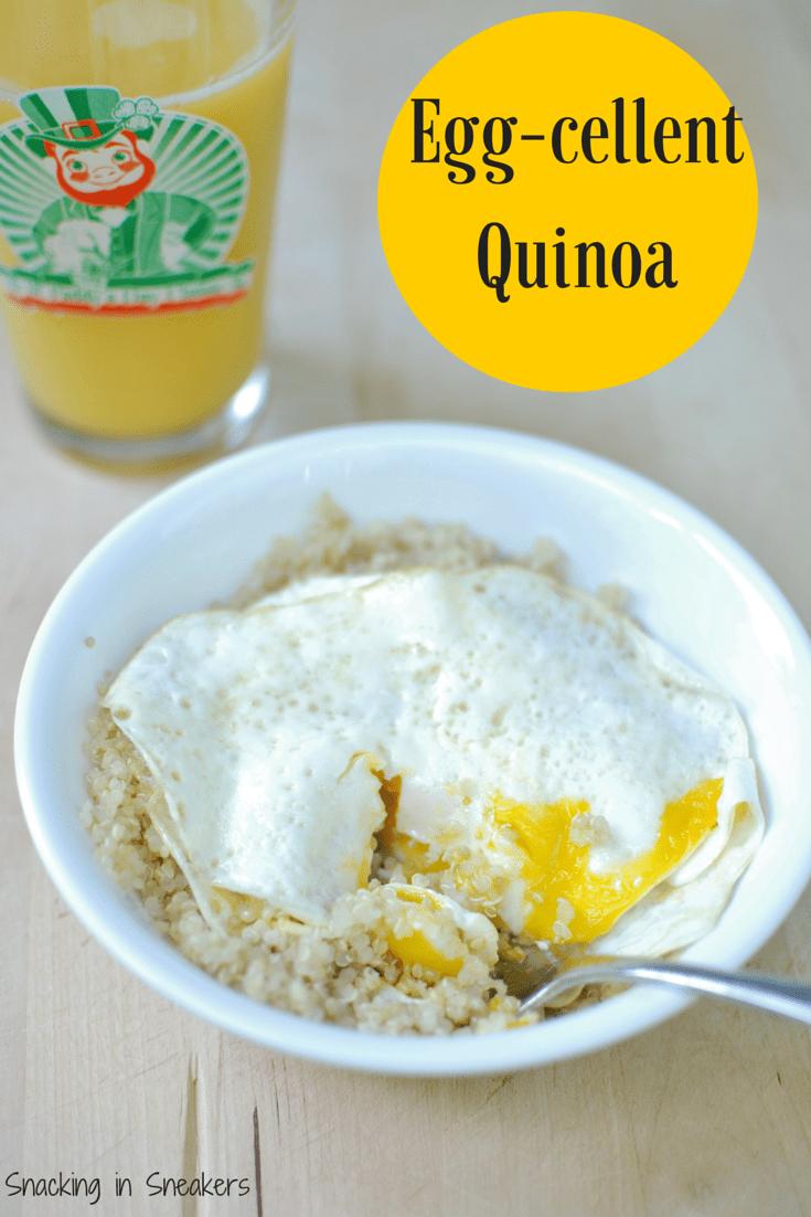 Quinoa and Eggs