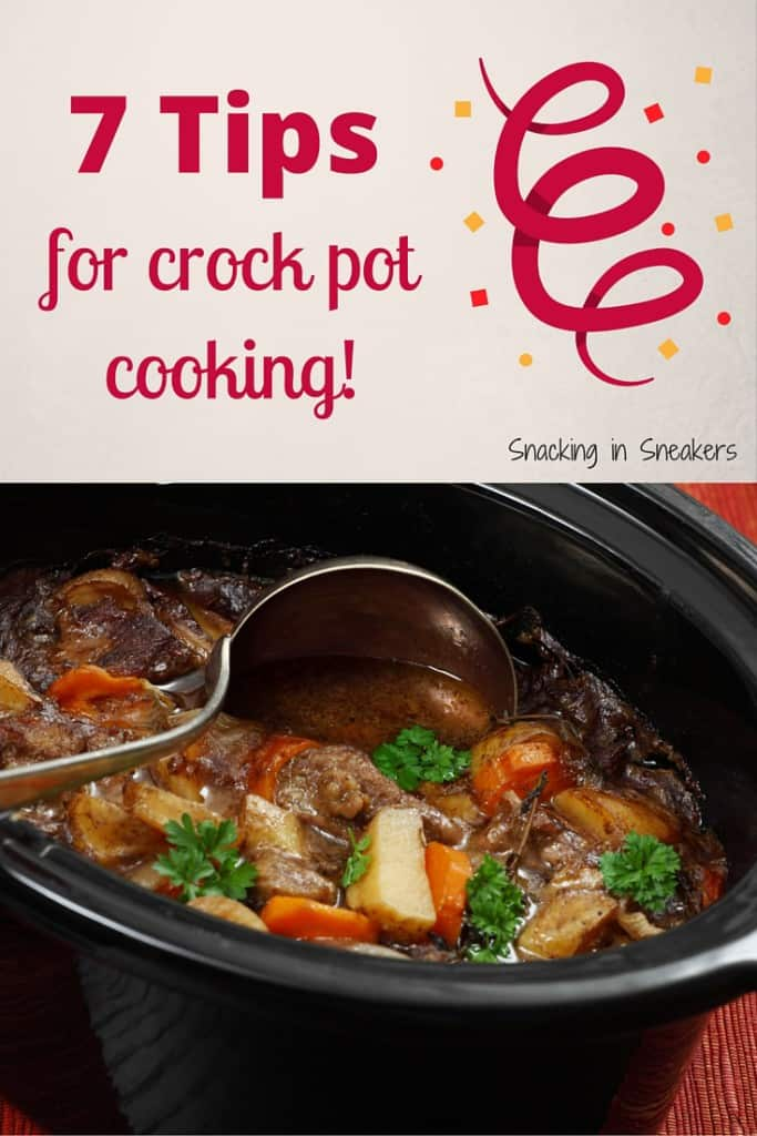 7 Tips for Crock Pot Cooking!